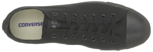 Converse AS OX CAN NVY M9697 Unisex-Erwachsene Sneaker Schwarz (Monocrom)
