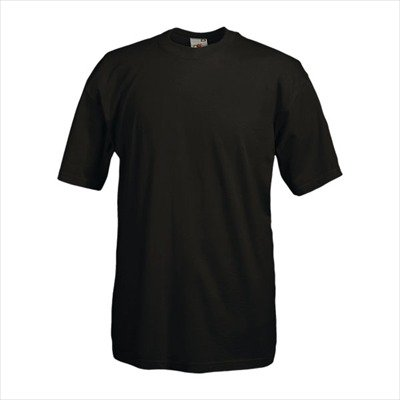 Fruit of the Loom - Heavy T-Shirt 'Super Premium T' M,black M,Black