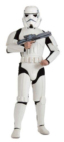 Imagen de star wars  disfraz stormtrooper deluxe adultos rubie's spain 888572  alternativa