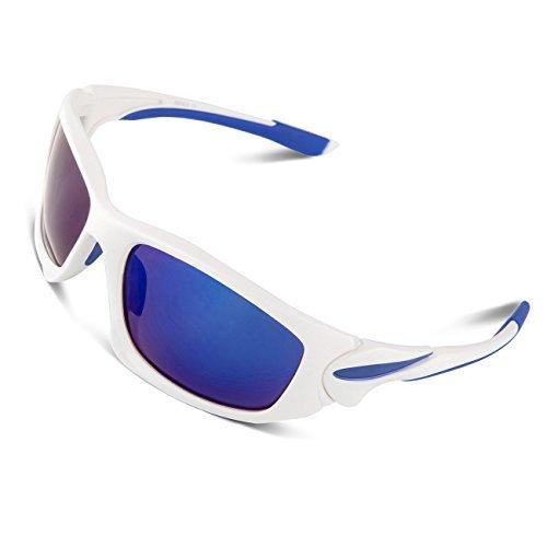 RIVBOS® polarizadas Deportes Gafas de sol Gafas de conducción para hombres mujeres...