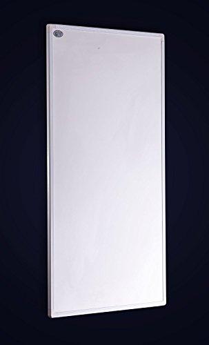 Crystal Fern Infrarotheizung XP 600Watt / 100x60cm Wand Paneele 98% Hitzeeffizienz (600w)
