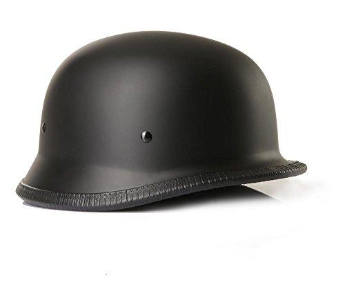 Halbschalenhelm Chopperhelm Brain Cap CMX German Easy Rider schwarz