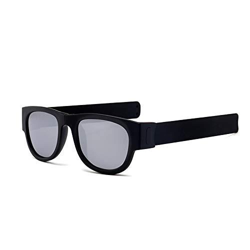 WBAHJ Polarisierte Faltbare Sonnenbrille Sport Faltbare Armband Shades