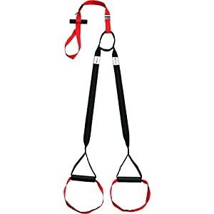 Variosling® Original Sling Trainer Modell 2019 Schlingentrainer mit DVD Übungs-Poster + Sicherheitshinweise für Suspension Trainer Training