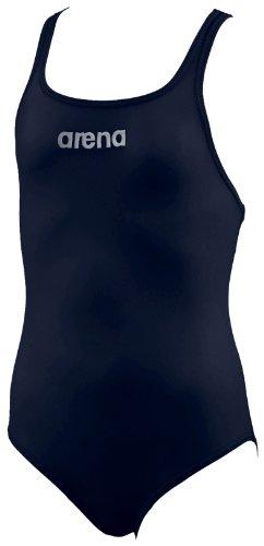 Arena 23701-75 Malteks Swimsuit, Youth 8 Years (Navy/Metallic Silver)