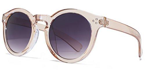 M:UK Hoxton Chunky D Frame lunettes de soleil en écaille violet MUK147856 One Size Gradient Grey SFGaZ