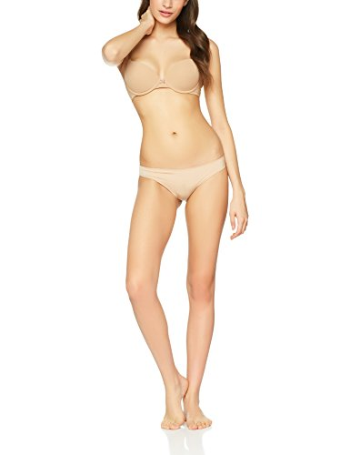 Iris & Lilly Reggiseno Body Smooth con Push-up Donna Beige (Praline)
