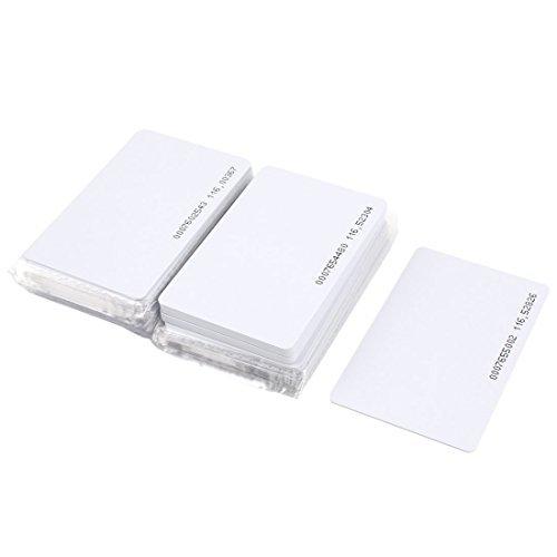 40pcs Contactless EM4100 125kHz RFID Proximity ID Entry Access Card
