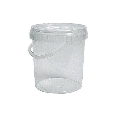 Cubo plástico uso alimentario redondo 3.000cc Litros