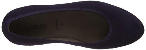 Gabor Damen Basic Ballet Flats Violett (Dark-Purple 13)