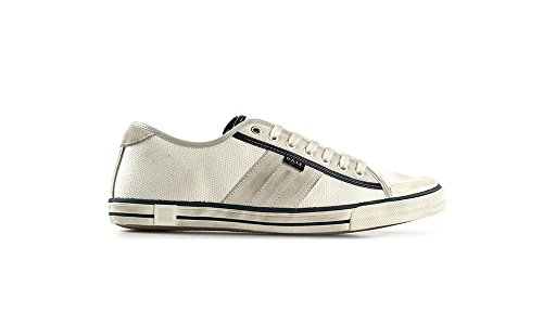 Date Sneakers En Tela Tender Low Canvas Blanc Blanc