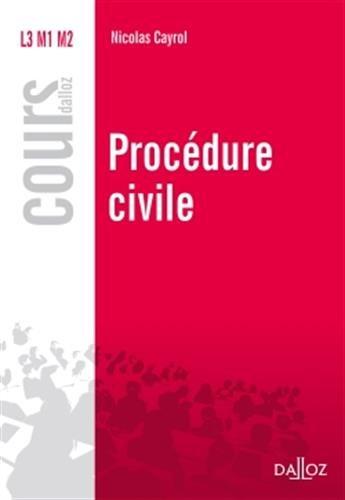 Procdure civile - Nouveaut