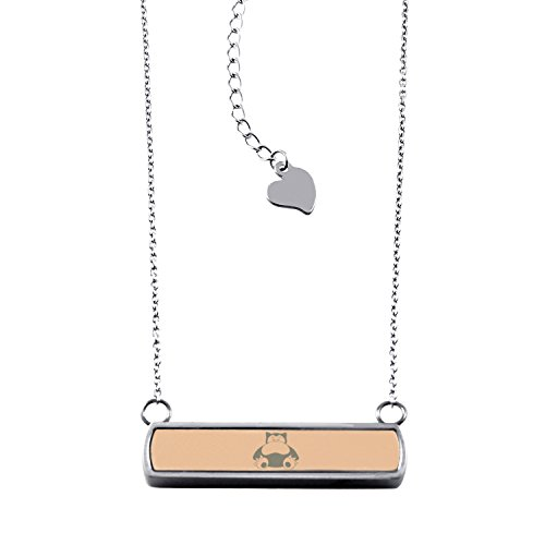 rose-gold-stainless-steel-laser-engraved-1st-gen-snorlax-pokemon-horizontal-bar-charm-necklace-penda