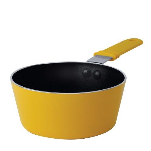Ecolution Kitchen Extras 0.3-Quart Saucepan, Mini, Yellow