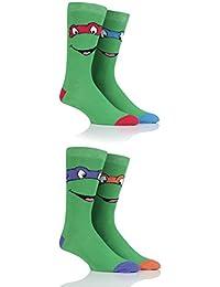 Herren 4 Paar SockShop Teenage Mutant Ninja Turtles Baumwollsocken