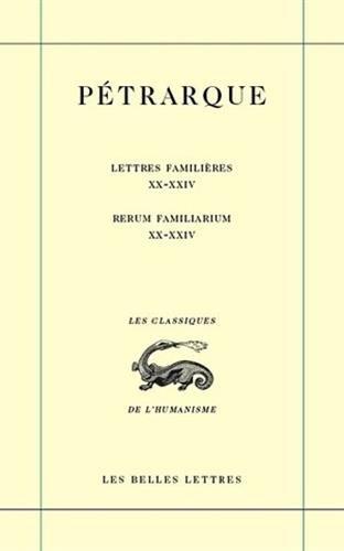 Lettres familières. Tome VI : Livres XX-XXIV / Re...