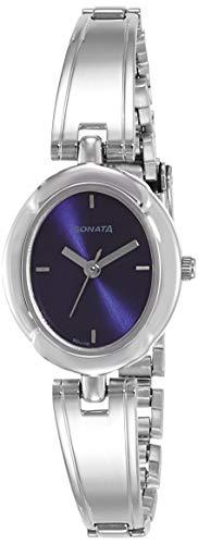 Sonata Essentials 2.0 Analog Blue Dial Women's Watch-8158SM02