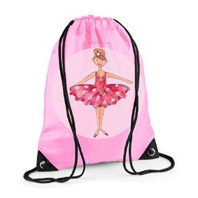 Ballet,bag,sports bag,girl's gym bag