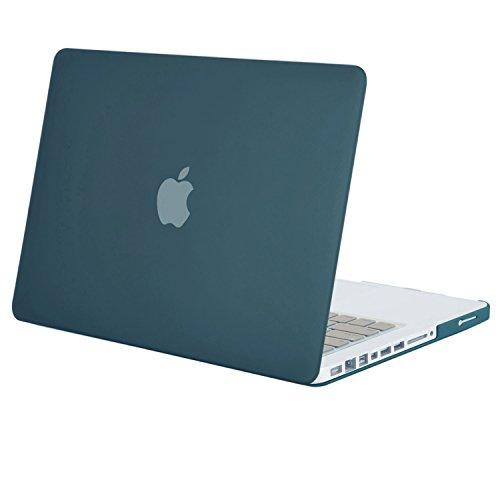 MOSISO MacBook Pro 13 Custodia Copertina (Non-Retina) - Plastica Custodia Rigida Caso Solo per Vecchio MacBook Pro 13 Pollici con CD-ROM (Modello: A1278, Versione anticipata 2012/2011/2010/2009/2008), Teal profondo