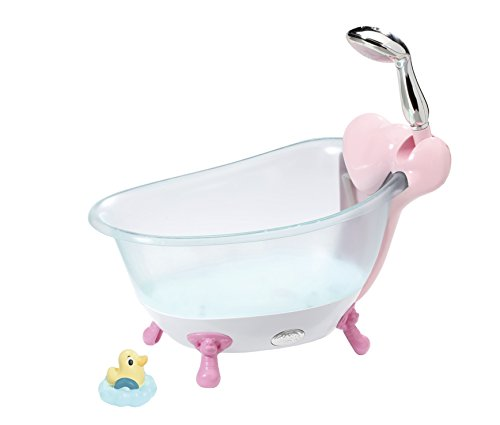Zapf Baby Born Bathtub Juego de baño para muñecas - Accesorios para muñecas (Juego de baño para muñecas, 3 año(s),, Niño, Chica, 43 cm)