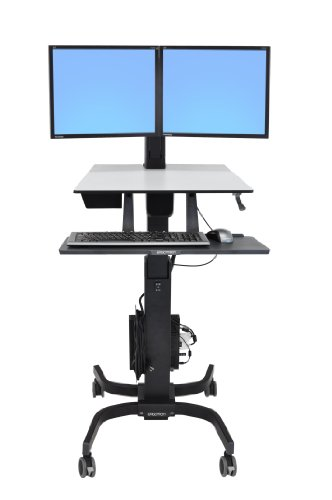 Get Ergotron WorkFit-C Dual Sit-Stand Workstation (24-214-085) Review