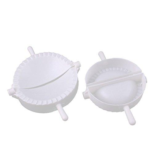 2Stück Kunststoff Chinesische Teigtaschen Presse Pie Fleisch Kloß Ravioli-Former