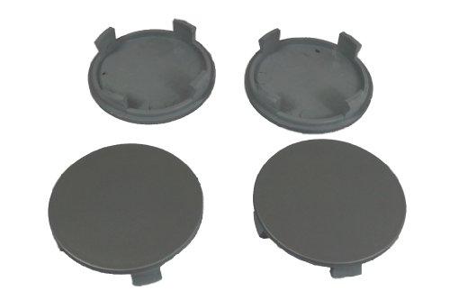 Preisvergleich Produktbild 4 x Außen 56, 0mm Innen 51, 5mm Nabenkappen Felgendeckel Radnabendeckel