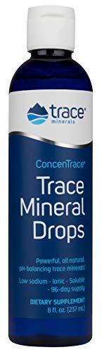 Trace Minerals ConcenTrace, concentrato di minerali traccia in gocce, flacone da 237 ml