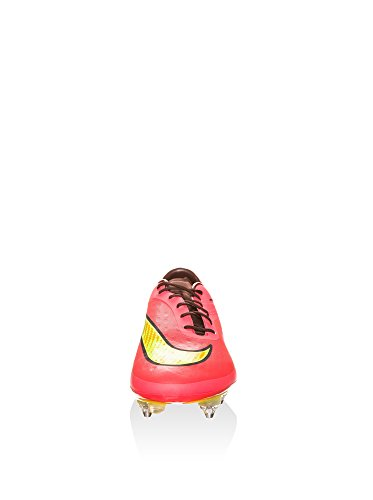 Nike HYPERVENOM Phatal FG, Chaussures de Football homme - bright crimson volt hyper punch metallic 690