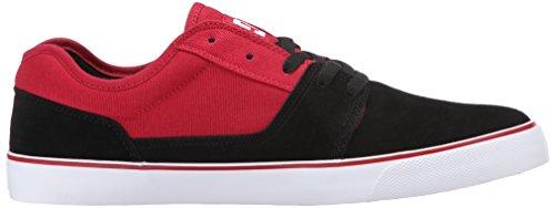 DC TONIK Unisex-Erwachsene Sneakers schwarz/red