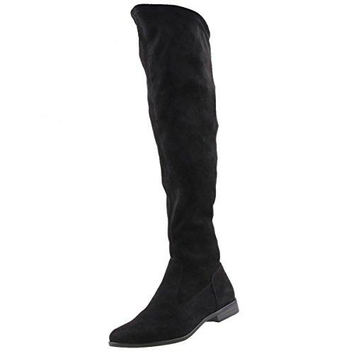 TAMARIS Damen Overknee Stiefel Schwarz, Schuhgröße:EUR 39