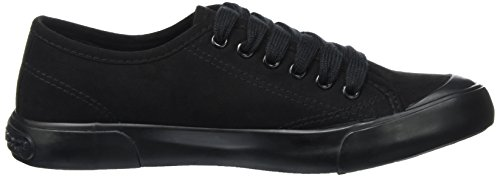 Rocket Dog Damen Jumpin Sneaker Schwarz (Black)