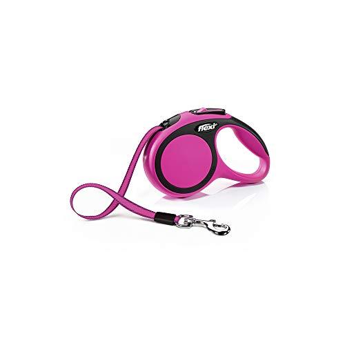 flexi New Comfort Gurt XS 3 m pink für Hunde bis 12 kg -