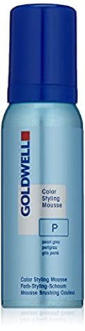 Goldwell Color Styling Mousse P perlgrau, 1er Pack (1 x 0.075 l)