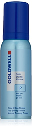 Goldwell Color Styling Mousse P, perlgrau, 1er Pack, (1x 0,075 L)