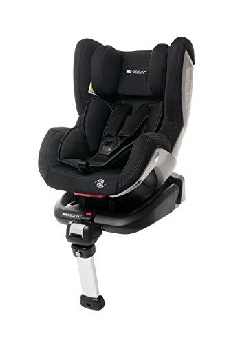 Osann 101-108-05 Reboard Kindersitz Fox Isofix - Gruppe 0+/1, 0-18 kg, 0 bis circa 4 Jahre, Schwarz
