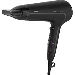 Philips DryCare Advanced Haartrockner mit ThermoProtect Technologie HP8230/00, 2100 W, DC-Motor und 1 Aufsatz