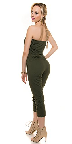 In-Stylefashion - Combinaison - Femme marron marron clair taille unique Marron Clair