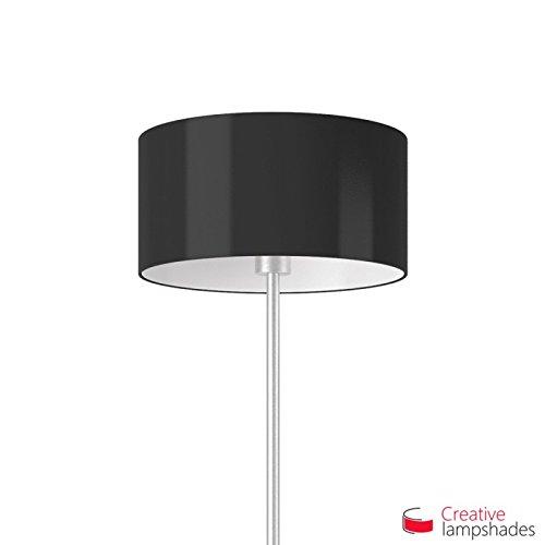 abat-jour-cylindre-revetement-lumiere-noir-diametre-25cm-h-16cm-e27-pour-lampe-table-ou-susp-oui