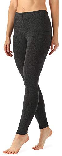 Merry Style Damen Lange Leggings MS10-143 (Dunkelmelange, XXL (Herstellergröße: 44))