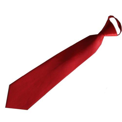 Produktbild Jessidress Kinderkrawatte Jungen Krawatte Kinder krawatte Rot