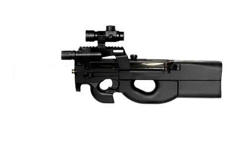 B90 Softair Gewehr -OHNE SD- elektrisch Red Dot+Schutzbrille+Zielscheibe
