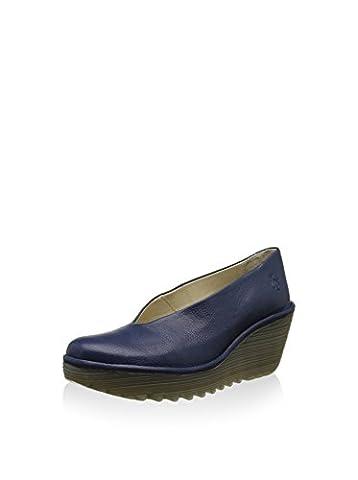 FLY London Damen Yaz Wedge Schuhe, Blau (Blue 202), 40 EU
