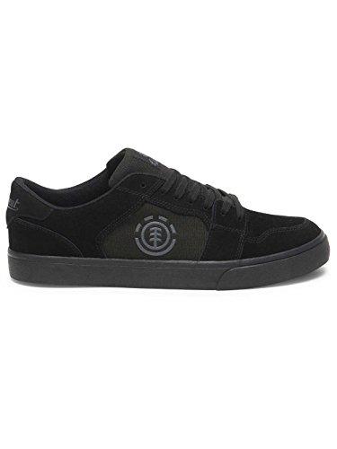 Element Herren Heatley Sneaker Black / Black