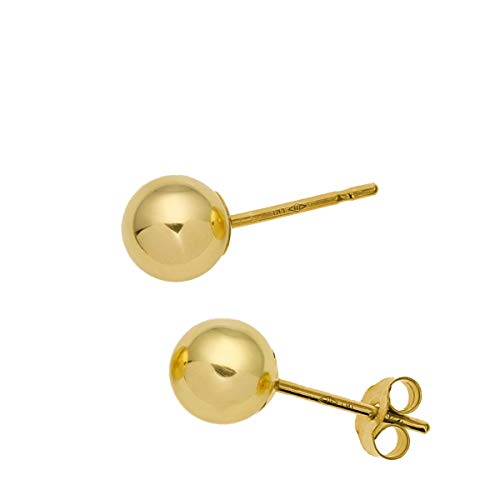 871c7c717 The Olivia Collection 9ct Yellow Gold 5mm Ball Stud Earrings