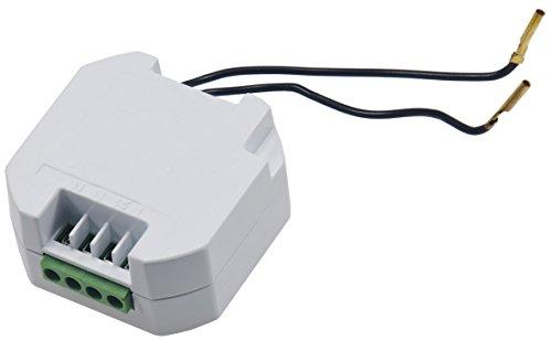 """SmartHome Funkschalter Serie \""""Pilota Casa\"""" 433,92Mhz, max. 70m LED Funktionsanzeige einfaches anlernen (Funk Empfänger für bestehende Wandschalter)"""