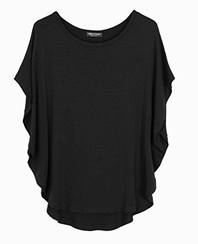 Emma & Giovanni T-Shirt/Top - Donna Nero