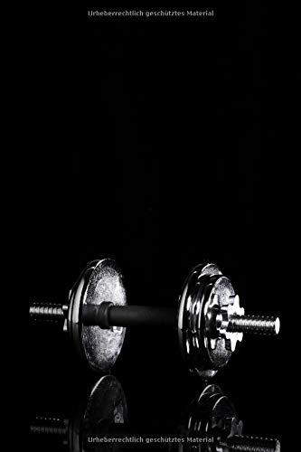 Der Weg Ist Das Ziel!: Fitness/Sport/Ernährung - Notizbuch für den persönlichen Trainingsplan, Fortschritte, Diättagebuch etc. ** 120 Seiten (6x9in) por Get Fit