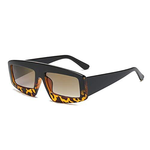 YHEGV Weinlese-Dame Sunglasses Women Rectangle Style Sun Glasses für Frauen Retro Glasses Female Uv400