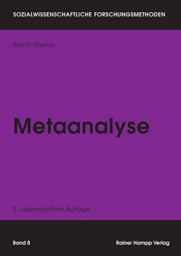 Metaanalyse (Sozialwissenschaftliche Forschungsmethoden)